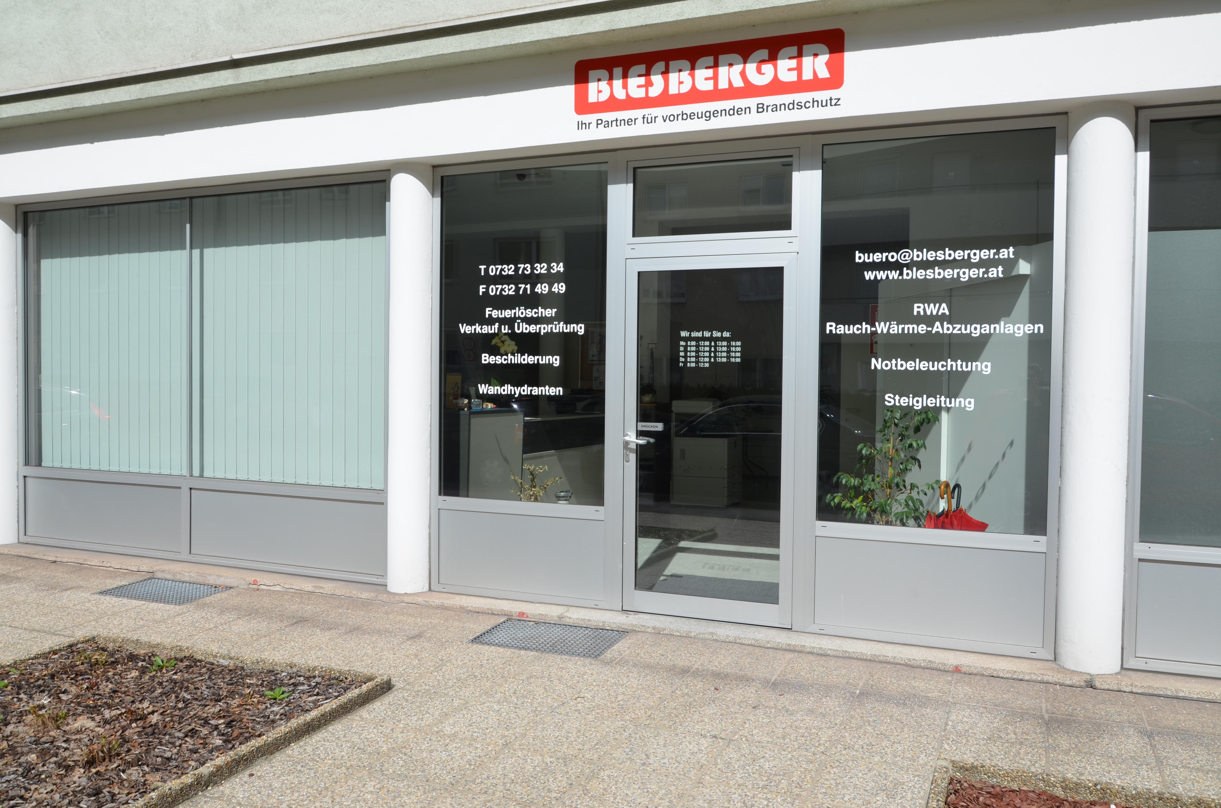 Büro Lager Werkstätte Blesberger